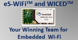 eS-WiFi and WICED Home Page