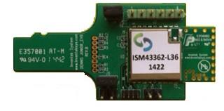 ISM43362-L36 2.4Ghz Wi-Fi SDIO EVB