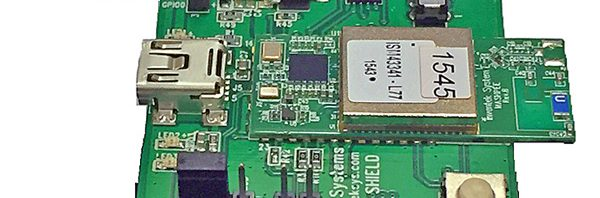 ISMART 4343-C  Wi-Fi 2.4 GHz & Bluetooth Combo Evaluation Board
