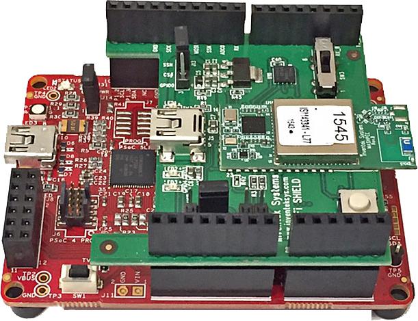 ISMART Cypress PSOC 4 eS-WiFi